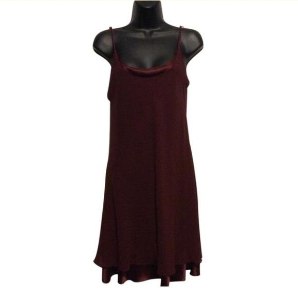 A.J. Bari Dresses & Skirts - A.J. Bari for Lord & Taylor 1980's Silk Slip Dress